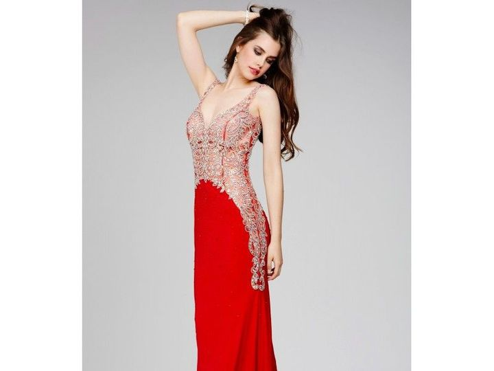 Tmx 1521822754 96d3838b60369f5a 1521822753 20d2ad4fe3e244cd 1521822732311 24 Jovani Red Sleeve North Andover wedding dress