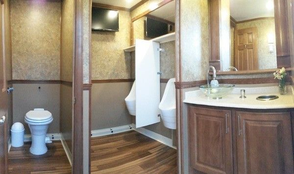Men's restroom on the Premier Ritz
