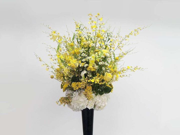 Tmx 1415830062367 Tall Yellow Cambridge wedding florist