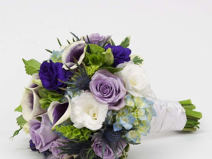 Tmx 1415830232785 Purple And White Bouquet Cambridge wedding florist