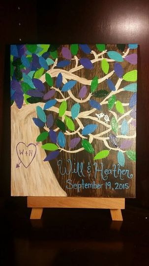 tree guest book 2