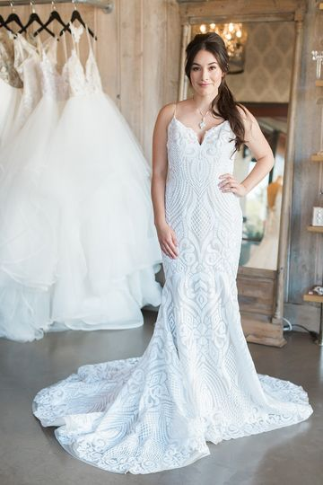 Los Gatos-local Hayley Paige is a favorite among Haute Brides - love her West Gown!