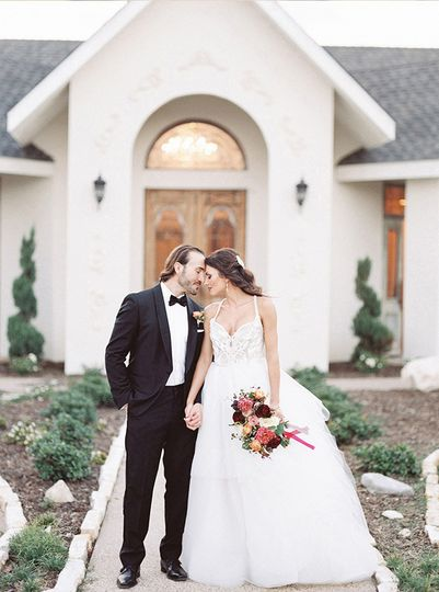 Hayley Paige gown with couture Haute Bride Jewelry