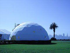 Wedding Tent Exterior Wedding Dome