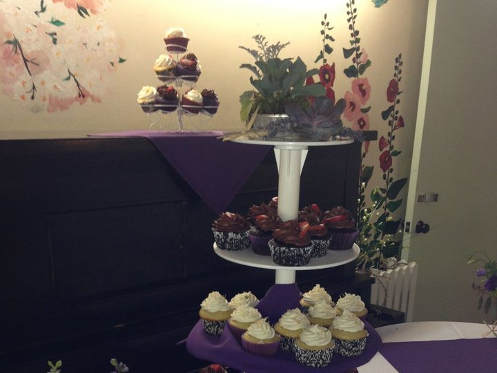 Tmx 1441979602910 Garden Room Cupcake Display Shirley, MA wedding venue