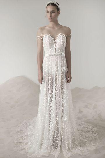 Spina Bride Dress Attire New York Ny Weddingwire