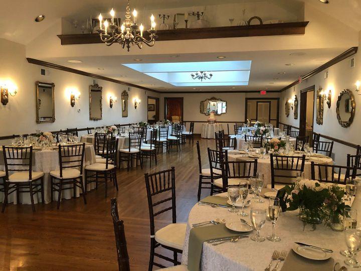 Spacious ballroom for reception