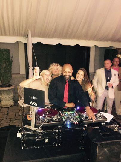 DJ APOLLO: Wicki Wicki Wicki  with the bridesmaid
