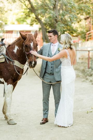 Circle Bar B Guest Ranch & Stables, Santa Barbara wedding