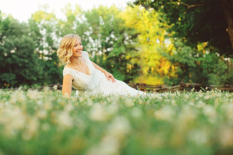 Bridal Portraiture in the Park