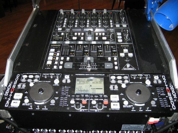 Mixer and Denon Digital Player