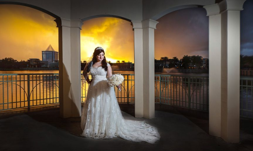 Bride Sunset View