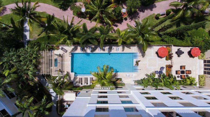 Aerial View-Pool