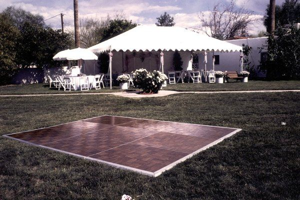 You've seen our tent rentals on a much larger scale, however, we provide the same quality product...