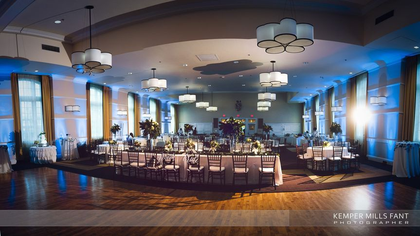 Wedding Reception at Charter Hall