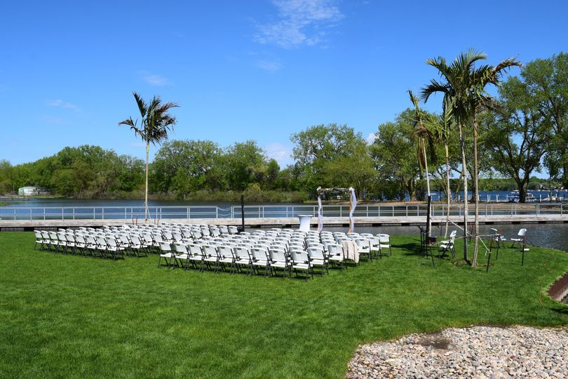 Outside Wedding Set-up