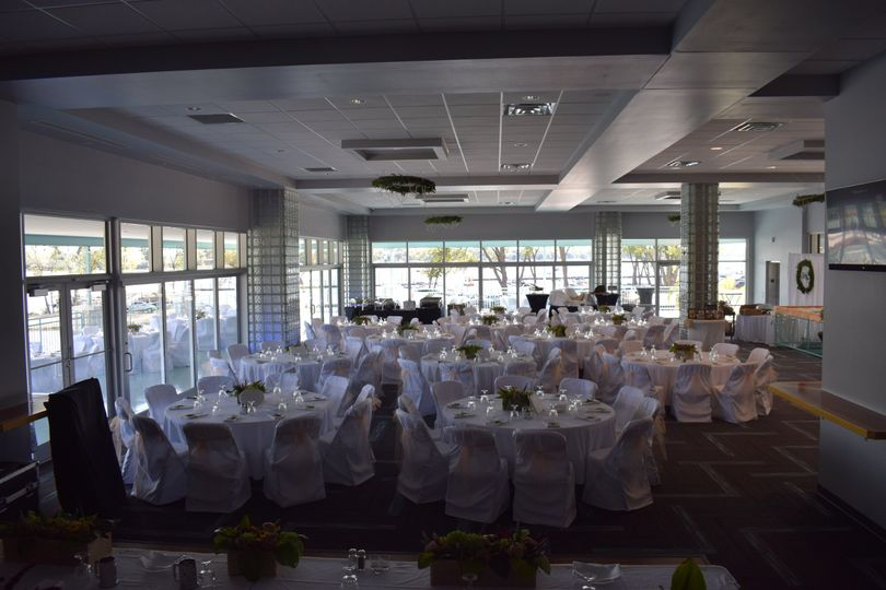 View from head table