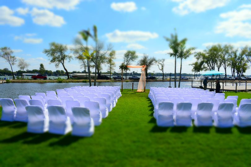 Ceremony East Lake Okoboji