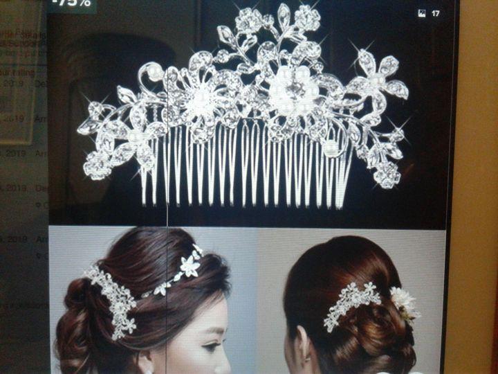 Bridal hair combs. Bling!