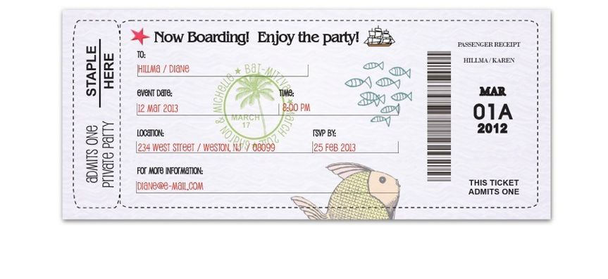 boarding pass 1 for scroll bar