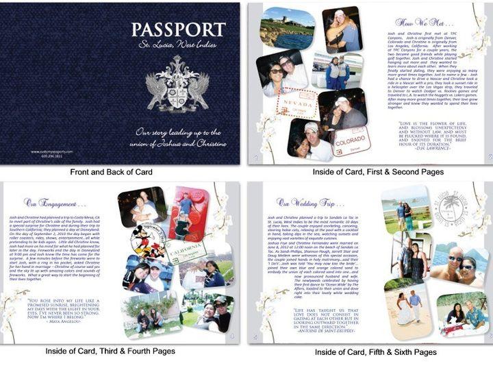 Tmx 1373313066616 Passport 49 Sample West Creek wedding invitation