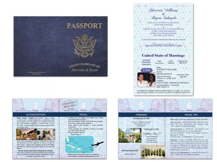 Tmx 1373313072993 Passport 51 Sample West Creek wedding invitation