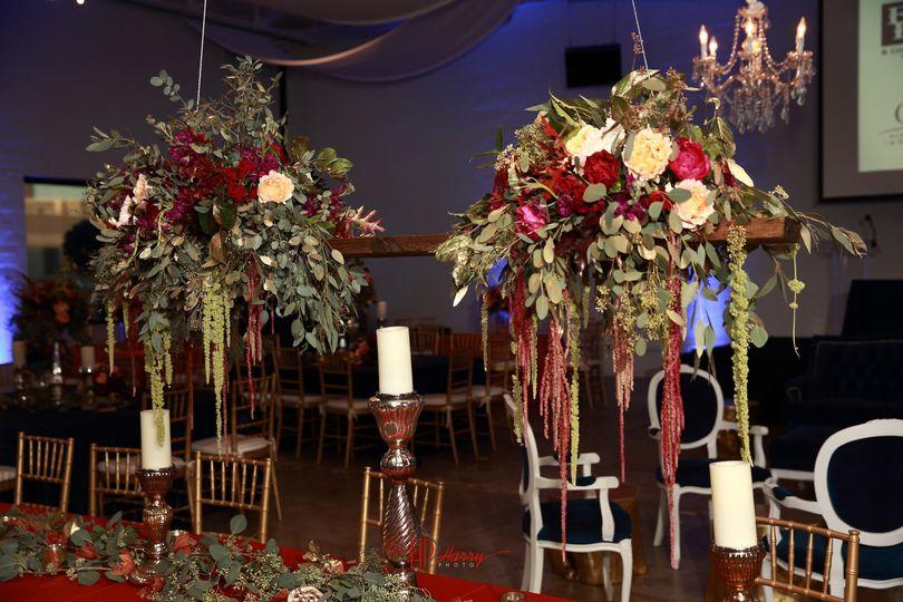 suspended floral 2