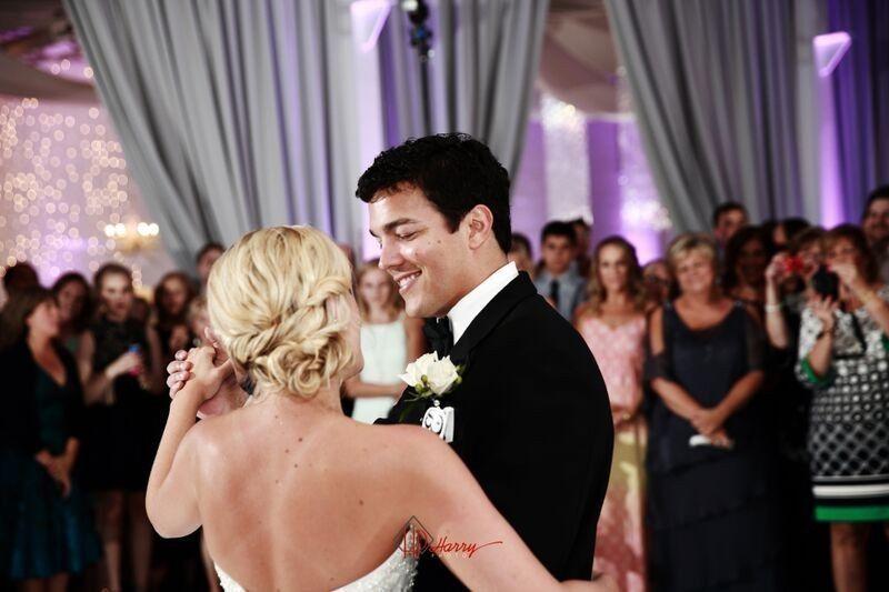 melissa and john bride groom