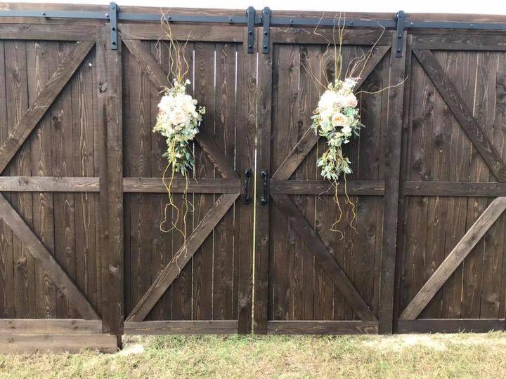 New rustic barn doors