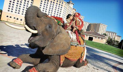 The wedding of Ravindra and Kumpal