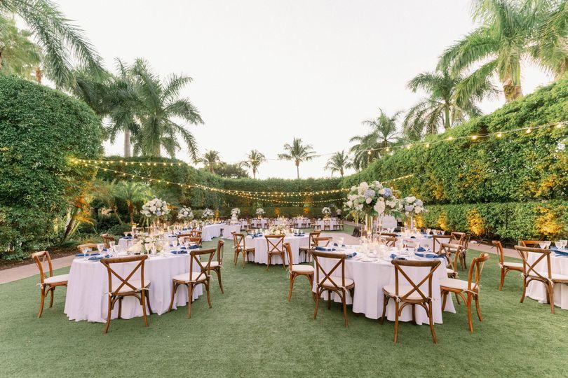 Royal Palm Courtyard