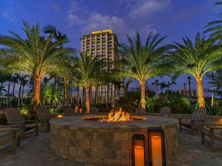 Tmx Hyatt Regency Coconut Point Resort Family Firepit Evening05x 51 430712 Bonita Springs, FL wedding venue