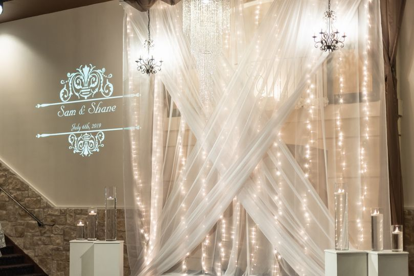 One-of-a-kind wedding decor