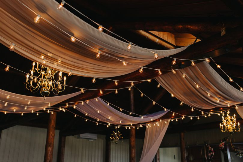 Cypress Room reception decor