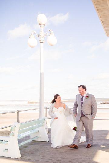 Jersey Shore Beach Wedding