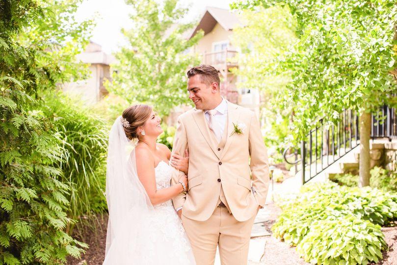 Mineral Springs Summer Wedding