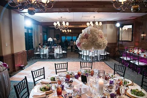 Elegant table arrangements