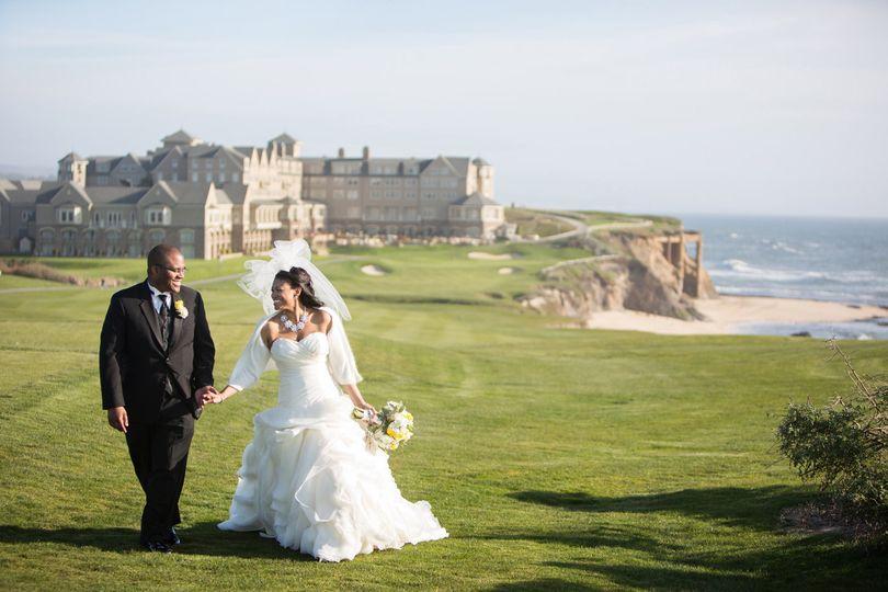 Wedding Photographerlogo 800x800 1365319046553 Carriechenweddingwire 1376507227107 Half Moon Bay Ritz Carlton Wedding036