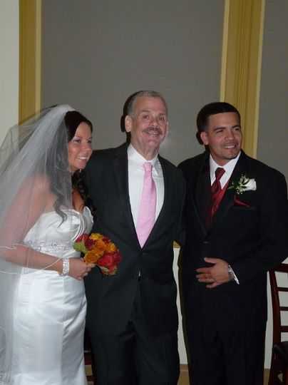 Kevin Bain with married couple