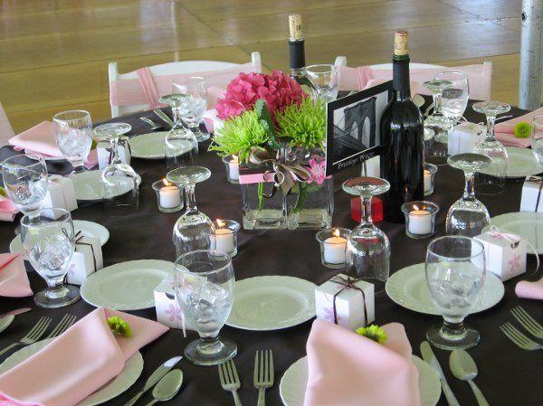Tmx 1307982817187 Raspberrypinkgreentable Tilton, New Hampshire wedding florist