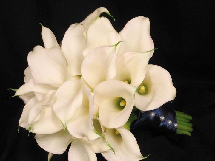Tmx 1341164216488 Whitecallalilybouquetside Tilton, New Hampshire wedding florist