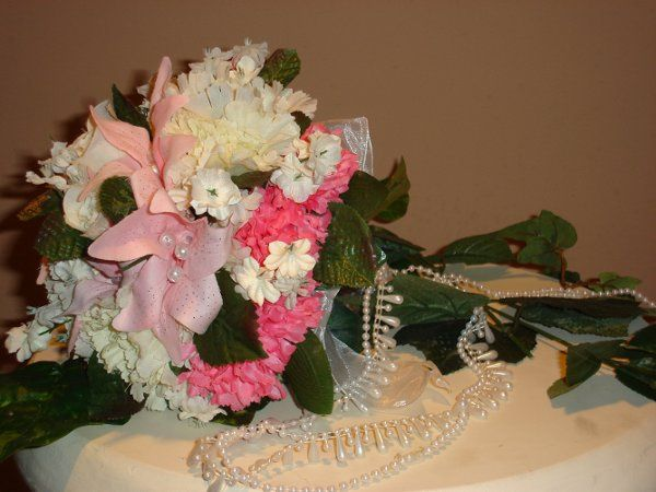 Bridesmaid's bouquet for Cinderella summer wedding