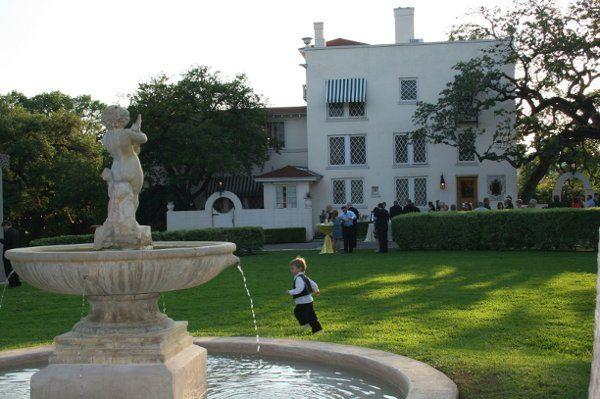 Fountain at the venue
