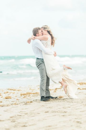 Beach Wedding at Hilton Singer Island