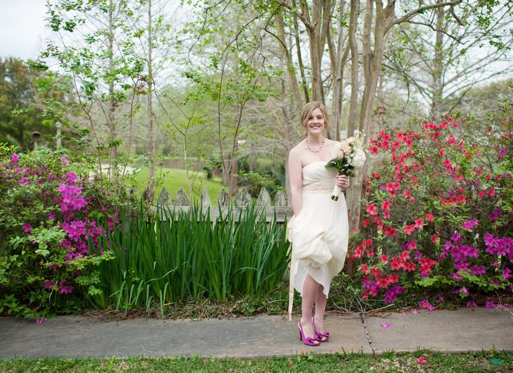 Pre-bridal shots in our gardens