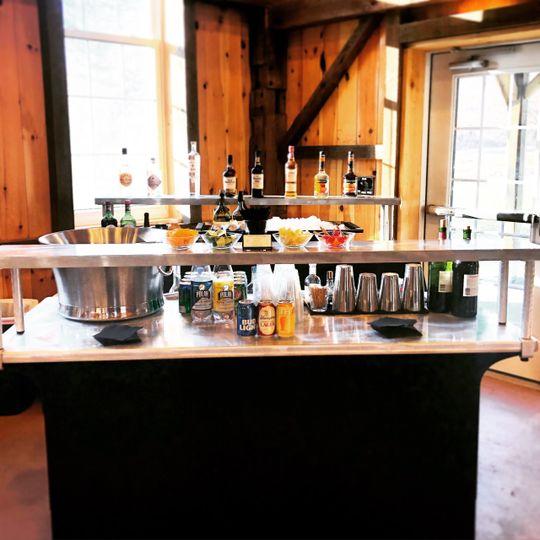 Full Bar setup, Powell