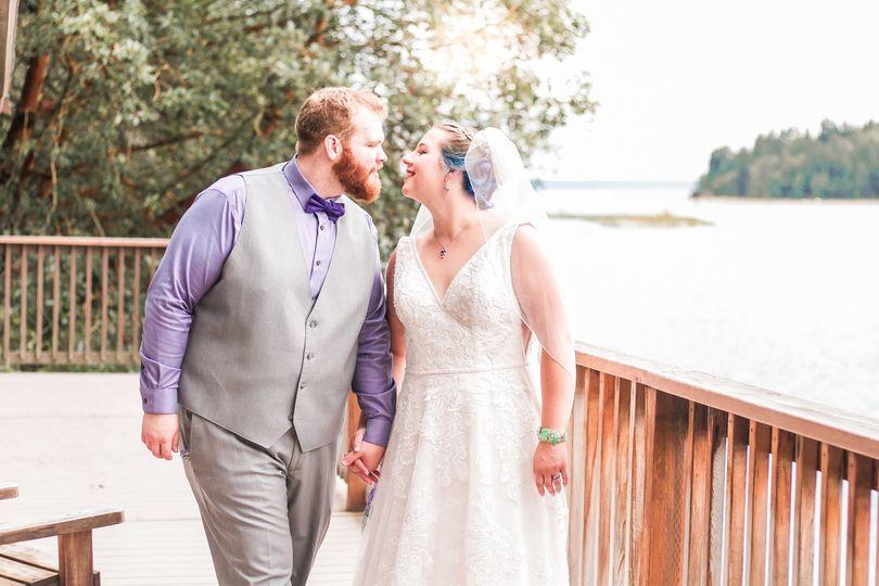 Intimate Lakeside Wedding