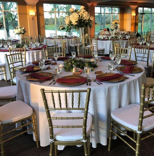 Ballroom tablescape