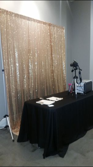 cndy moore photo booth backdrop