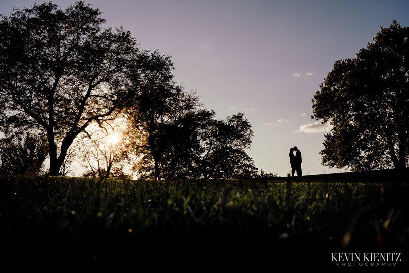 I love silhouette shots!